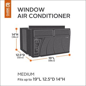 Classic Accessories Veranda Medium Window Air Conditioner Cover