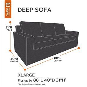 Classic Accessories Veranda Patio X-Large Sofa Cover