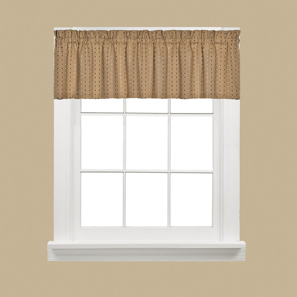 Saturday Knight, Ltd. Hopscotch Valance - 58'' x 13''