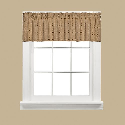 Saturday Knight, Ltd.  Hopscotch Window Valance - 58'' x 13''