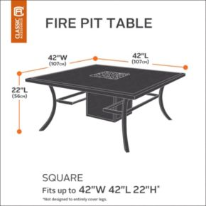 Classic Accessories Ravenna Fire Pit Cover