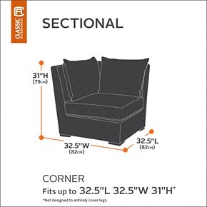 Classic Accessories Ravenna Sectional Cover