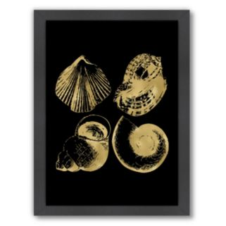 "Americanflat ""Seashell Quad"" Framed Wall Art"