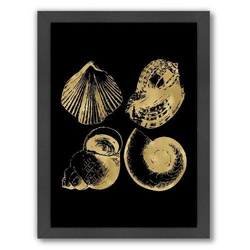 "Americanflat ""Seashell Quad"" Framed Wall Art"
