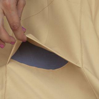 Classic Accessories Veranda Medium Rectangle Patio Table Cover & Umbrella Hole