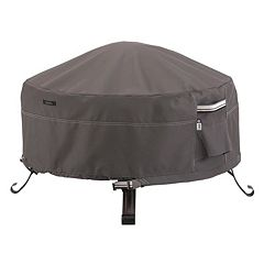Classic Accessories Ravenna Small Round Fire Pit Cover Full Coverage