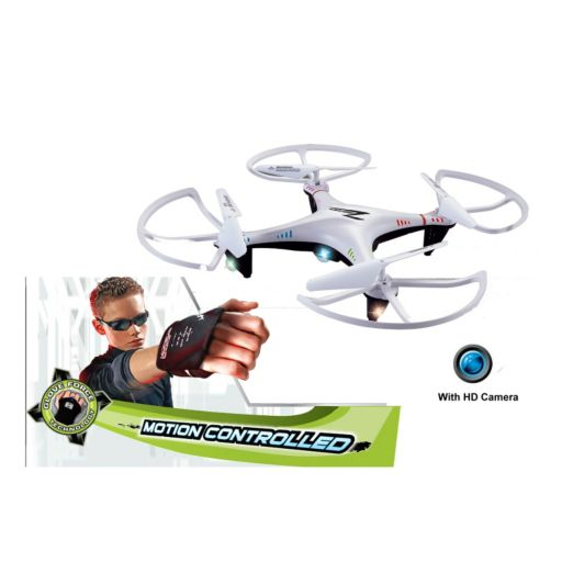 Force Flyers Motion Control X Drone Scout with Camera by PaulG Toys