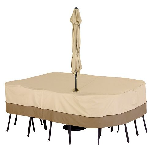 Large Rectangle Patio Table Cover