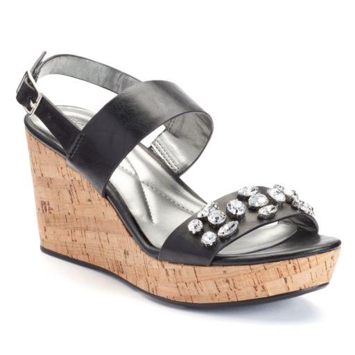 Andrew Geller Destin Women's Wedge Sandals
