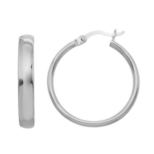 Sterling Silver Hoop Earrings by Kohl's