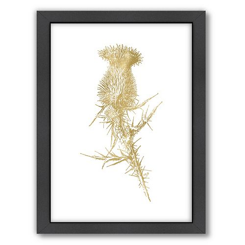 "Americanflat ""Thistle 1"" Framed Wall Art"