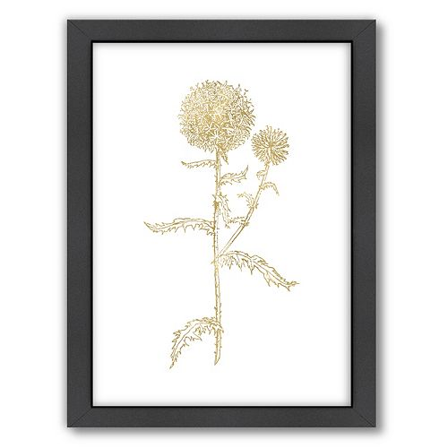 "Americanflat ""Thistle 2"" Framed Wall Art"