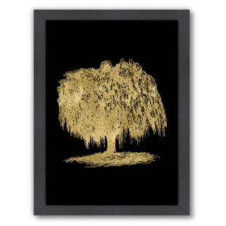 "Americanflat ""Weeping Willow Tree"" Framed Wall Art"