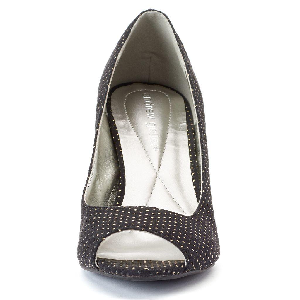 Andrew Geller Uriel Women's Peep-Toe Pumps