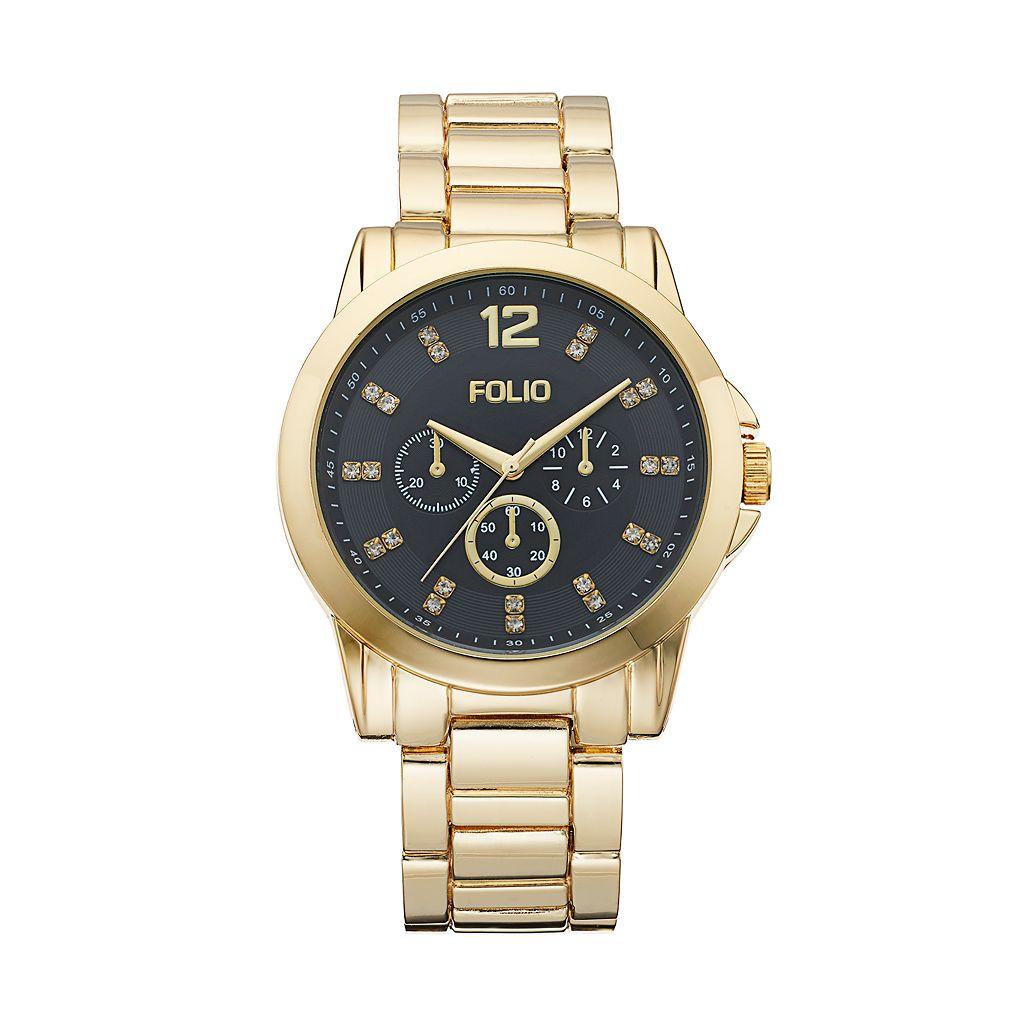 Folio Men's Crystal Watch