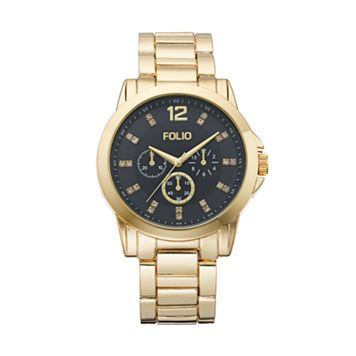 Folio Men's Crystal Watch