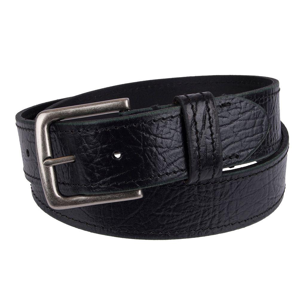 Men's Levi's® Leather Saddle-Stitched Belt