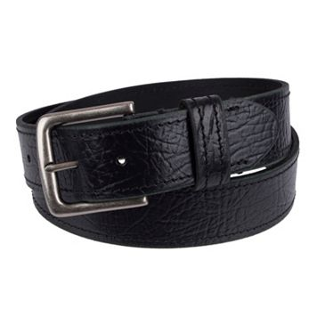 Men's Levi's® Leather Saddle-Stitched Belt