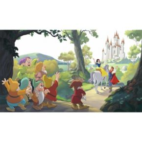 """Disney Princess Snow White """"Happily Ever After"""" 7-piece Mural Wall Decal"""