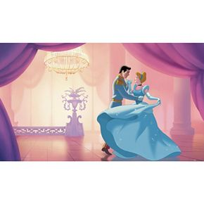 "Disney Princess Cinderella ""So This Is Love"" XL 7-piece Mural Wall Decal"