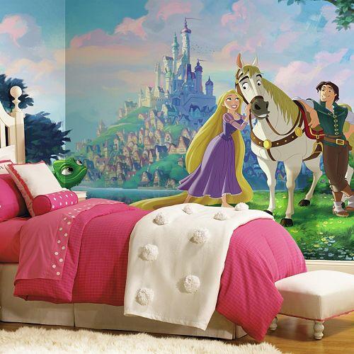 Disney Princess Tangled XL 7-piece Mural Wall Decal