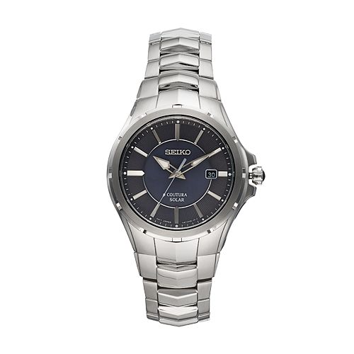 Seiko Men's Coutura Stainless Steel Solar Watch - SNE411