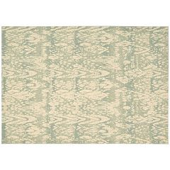 Nourison Nepal Distressed Ikat Wool Rug