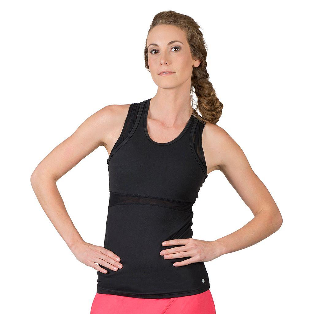 Women's Soybu Koa Mesh Racerback Yoga Tank