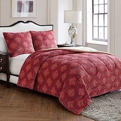 VCNY Jacquard Damask Comforter Set