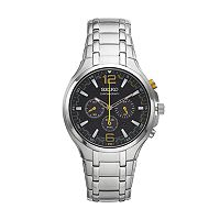 Seiko Men's Recraft Stainless Steel Solar Chronograph Watch - SSC449