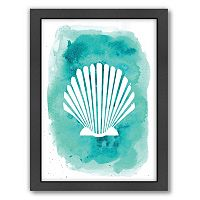 Americanflat Seashell Framed Wall Art