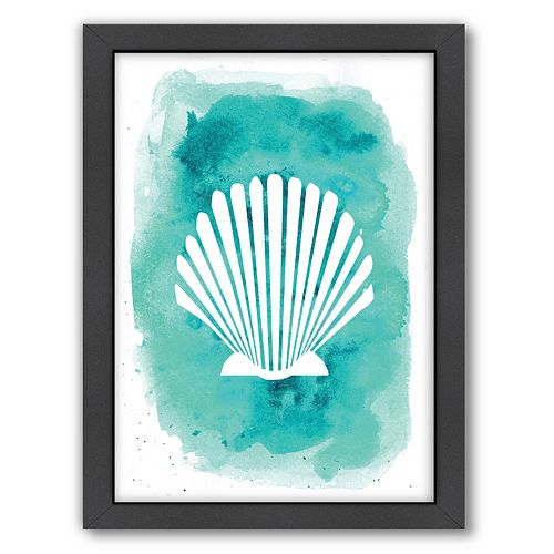 Americanflat Seashell Framed Wall Art