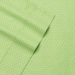Alpine Dot 300 Thread Count Cotton Printed Sheet Set