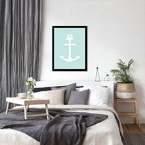 Americanflat Anchor Framed Wall Art