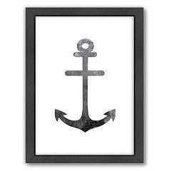 Americanflat Anchor Framed Wall Art