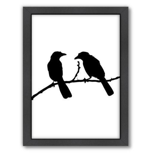 Americanflat Bird Framed Wall Art