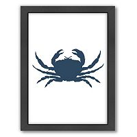 Americanflat Crab Framed Wall Art