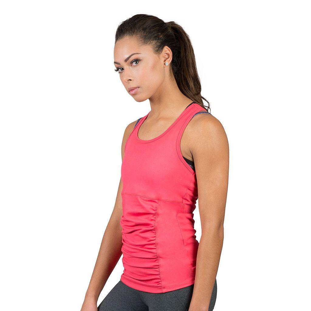 Women's Soybu Challenge Ruched Racerback Yoga Tank