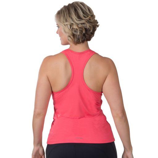 Plus Size Soybu Challenge Ruched Racerback Yoga Tank