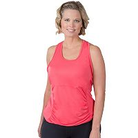 Plus Size Soybu Challenge Ruched Racerback Yoga Tank