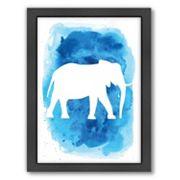 Americanflat Elephant Framed Wall Art