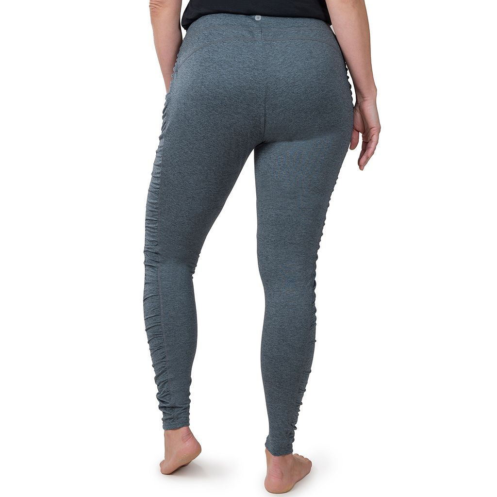 Plus Size Soybu Talia Ruched Yoga Leggings