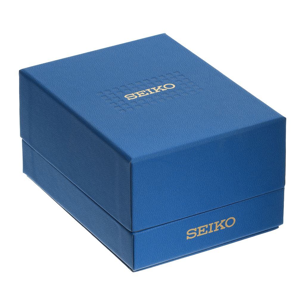 Seiko Men's Recraft Leather Automatic Watch - SNKN69