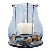 San Miguel Caspian Hurricane Candle Holder