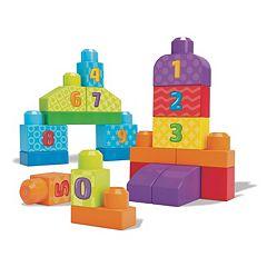 Mega Bloks First Builders 123 Count Set
