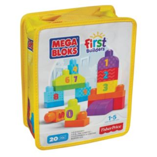 Mega Bloks First Builders 123 Count Set