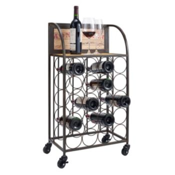 Linon Wine Rack Cart