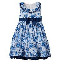 Girls 4-6x Nannette Floral Butterfly Ruffle Dress