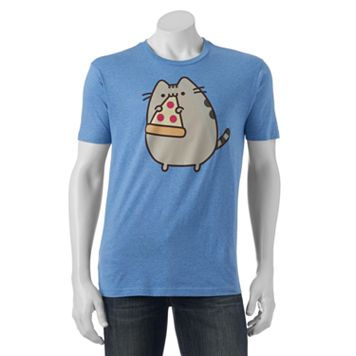 Men's Pusheen Pizza Tee