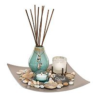 San Miguel Sea Grass & Lotus Reed Diffuser 5 pc Set